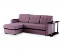 Угловой диван Атланта (Velvet LUX Lilac)